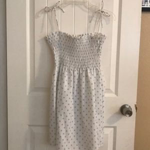 Polkadots vintage summer dress